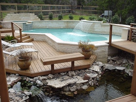 How to Build a Pool Deck  Build Pool Deck 5