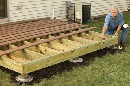 How to Build a Wooden Deck Build Wooden Deck