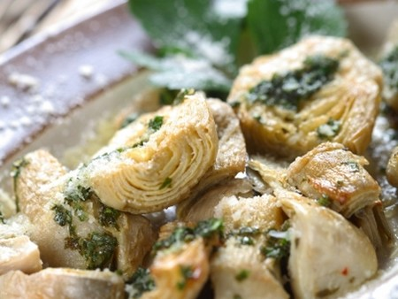 how to cook artichoke leaves