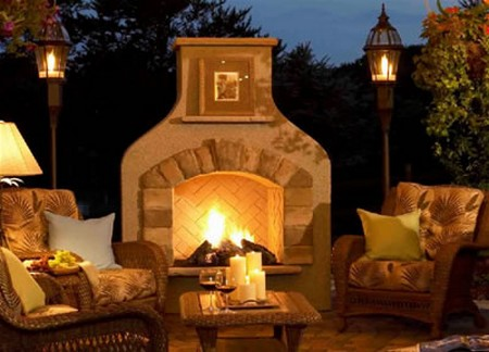 How to Build an Outdoor fireplace Outdoor fireplace
