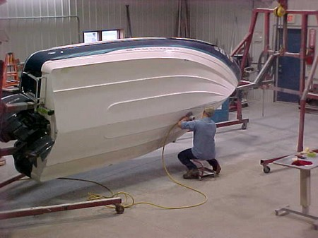 How to Repair a Fiberglass Hull on a Boat Repair Fiberglass Hull 5