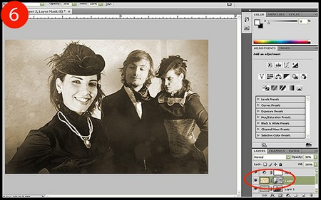 How to Antique Pictures in Photoshop Antique Pictures in Photoshop