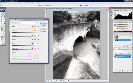 How to Color Black and White Photographs in Photoshop Black and White in Photoshop