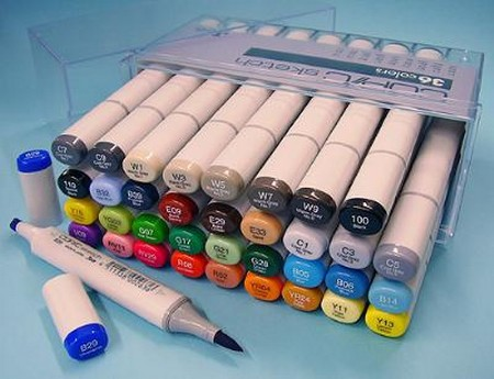 How to Use Copic Markers