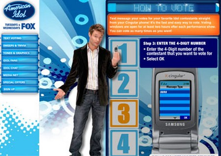 How to Vote for an American Idol Contestant Vote for American Idol