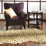 How to Paint a Faux Leopard Rug on the Floor