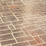 How to Paint Faux Flagstone Floor