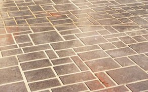 How to Paint Faux Flagstone Floor how to paint faux flagstone floor e1287222071583