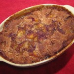 How to Cook Peach Cobbler