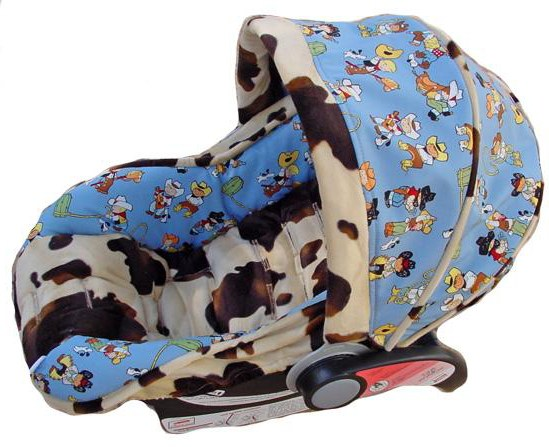 How To Make A Baby Car Seat Cover With Elastic