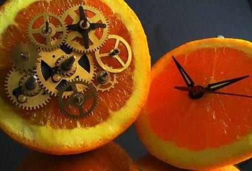 How to Make a Fruit Clock how to make a fruit clock