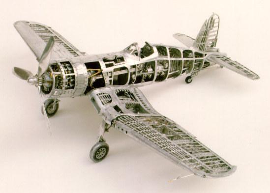 Home Made Metal Foil For Models