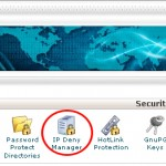 How to Block an IP Address through Cpanel