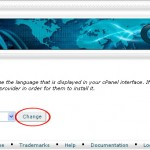 How to Change your cPanel Language