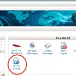 How to Add MIME Types through cPanel