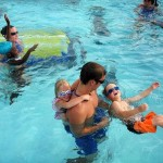 How to Teach a Child to Breath While Swimming