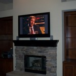 How to Mount a Flatscreen TV on a Stone Fireplace