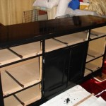 How to Paint Bedroom Furniture Black