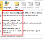 How to Translate Word Documents to a Foreign Language