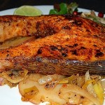 How to Bake Salmon Steaks
