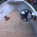 How to Repair a Boat's Fiberglass Floor