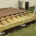 How to Build a Wooden Deck