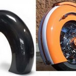 How to Make a Fiberglass Motorcycle Fender