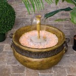 How to Make an Outdoor Fountain from a Pot